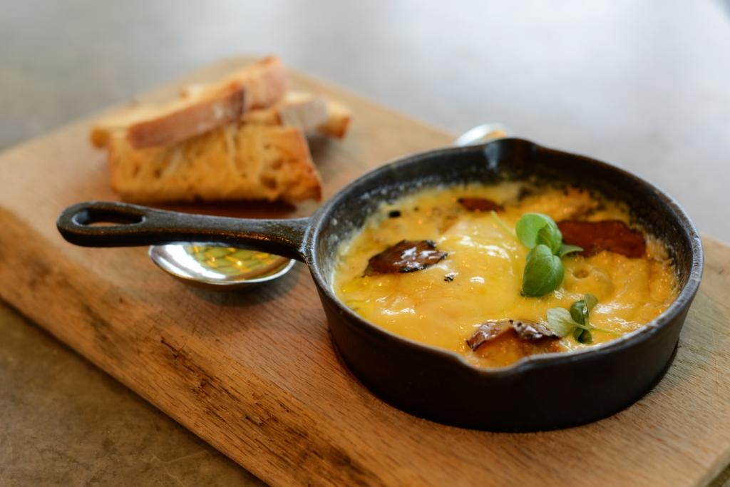 eggs eggs norwegian truffle eggs eggs en cocotte with cream garlic ...